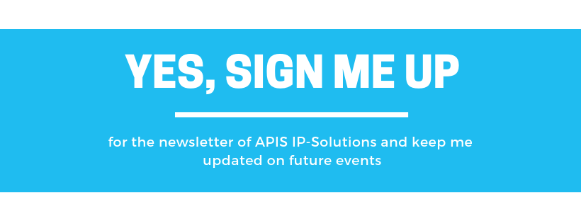 sign up newsletter apis ip solutions